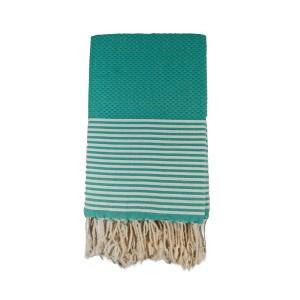 aqua block-stripy